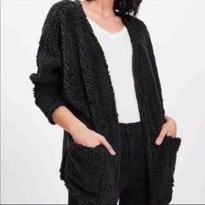 Shein Teddy Bear Cardigan